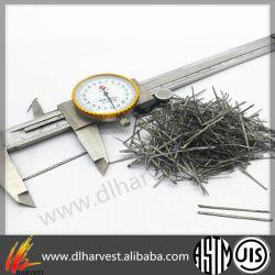 Новое качество Melt-Extracted волокна из нержавеющей стали для огнеупорные материалы
