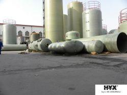 Réservoir de PRF horizontale pour l'eau ou de produits chimiques