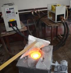 Macchina di fusione di induzione per media frequenza (5kg ferro di fusione, acciaio, rame, oro, Siver, ottone