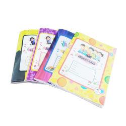 Personalizar el tamaño y el revestimiento de PVC Softcover estudiante las páginas de cuaderno de ejercicios