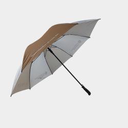 فضة يكسى [أوف] حماية كبيرة حجم بالغ لعبة غولف مظلة عادة
