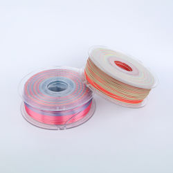 Rainbow 3D Filament PLA hat lange Lagerzeit ausgezeichnete FDM Drucken 1,75mm 3D Drucken von Glühfaden