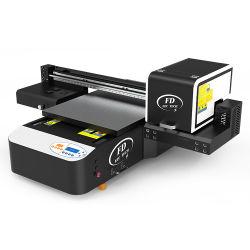 6090紫外線プリンターインクジェット平床式トレーラー紫外線LEDの印字機安く小さいA2 A3 A4のニスのデジタル平面紫外線プリンター