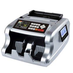 Al-6700t SAR, KWD, ETB, JOD, BHD, QAR, OMR, SYP, IRR, USD contanti del Bill di contro che contano il rivelatore dei soldi falsificati della macchina