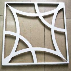 Décoration de coupe CNC aluminium panneau pour l'extérieur et intérieur du panneau de décoration murale