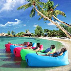 Base di sofà impermeabile durevole gonfiabile della banana di Sun della spiaggia esterna portatile