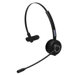 Bluetooth Monokopfhörer-drahtloser Büro-BT-Wechselsprechanlage-Kopfhörer mit aufladenunterseite