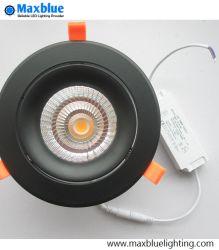 35 واط أسكان سوداء أنيقة CREE/Citizen COB ضوء LED في السقف