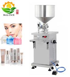 Riempitore semi automatico della macchina rifornimento della lozione/della crema per crema/liquido/unguento/la lozione
