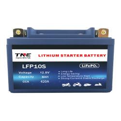 오토바이/스피드 보트/ATV/스노우 모빌용 12V 8ah 파워 스포츠 리튬 배터리