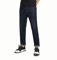 Kundenspezifische dünne Mens-Denim-Jeans-Form-Entwurfmens-Jeans-Großhandelskurze Hose