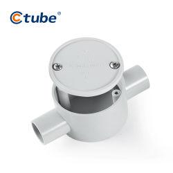 حماية سلكية مخصصة PVC الحريق المقدرة مقاومة الانفجار ملتقى طرق كهربائي صندوق