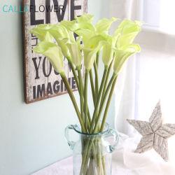 Mini Callla Flores artificiales hogar decoración de parte de la boda de Lily MW01505