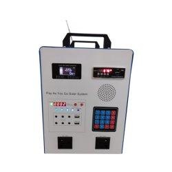 Paygo Casa Solar de 300W Sistema de iluminación con la radio, MP3, Bluetooth, Pago Pago inmediato del sistema de la energía solar para la televisión ventilador AC aparato