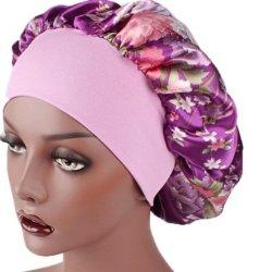 Женщин Satin платка спальные капот волосы Wrap шелка с головной стяжкой износ головки блока цилиндров