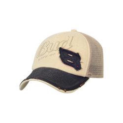 메쉬 맞춤형 플랫 브리프 트러커 모자 스냅백 트러커 모자 프로모션