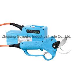 Professional 40mm 전기 과일 주형 전단기/전기 우회 주전자형 경량 휴대용 내장 배터리 발링기
