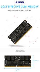 Memoria del taccuino del modulo di RAM DDR4 16GB 2133MHz 2400MHz 2666MHz 260pin So-DIMM di Zifei per il computer portatile