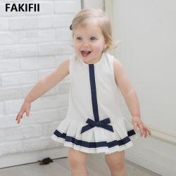 2021 方法ブランドの最も新しい子供の王女は服を着る赤ん坊女の子のスポーツ 子供のための白い綿の服