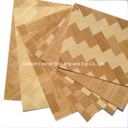 L'ambiente protegge l'impiallacciatura urgente bambù laminata della fetta sottile