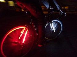 مرنة دراجة أضواء شريط مسيكة دراجة إطار [لد] إنارة عدة [رغب] [لد] ليّنة قضيب مصباح أماميّ و [تيلّيغت] شريط مرنة