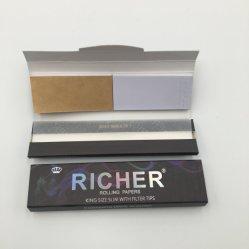 Hot Sale Cigarette Rolling Paper Fermeture par onglet