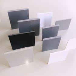 Resistência Leve de PP de PVC rígido de espuma Serigrafia PVC plástico branco Cinza Claro Cor Transparente folha rígida Board para impressão de termoformagem de embalagem