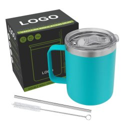 Wevi 14oz aislamiento termo vacío de acero inoxidable taza personalizada impresión de la cerveza, café