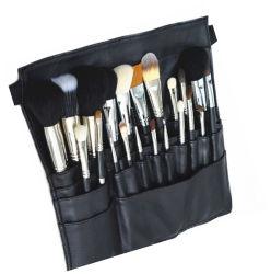 Artista Primeira Opção Professional Makeup Ajuste da Escova 22PCS de Bolso Preto Cinto de escova de maquiagem