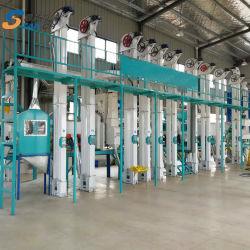 60 toneladas la certificación ISO Auto automática Máquina de molino de arroz El arroz de equipos de molienda molino de arroz