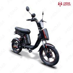 Moto eléctrica / potente e scooter de 500 W / pneu de 14 polegadas / bateria de lítio scooter / Grillo