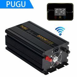 Gleichstrom 24V UPS-zum reinen Sinus-Wellen-Sonnenenergie-Inverter Wechselstrom-220V 2000W mit Aufladeeinheit
