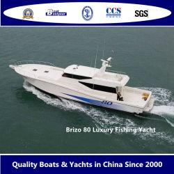 Bestyear 24m Fiberglass Luxury Fishing Yacht Brizo 80