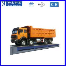 China 80 toneladas de peso del vehículo báscula de camión fábrica con una entrega rápida
