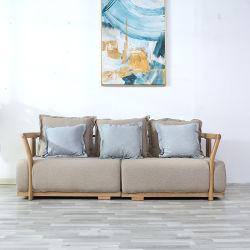 كل الغرف الخشبية الصلبة القابلة للإزالة القابلة للغسل والسبل القابلة للغسل، أريكة يمكن تحويلها إلى قماش 0044