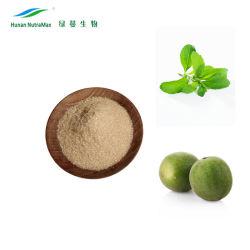 Natuurlijke zoetstoffen Monk fruit extract met Erythritol mengsels 1: 1 Wit Bruin granule Poeder