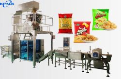 Hersteller für automatische Imbiss-Popcorn Vffs Beutel-Verpackungsmaschine