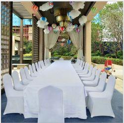 Color sólido mayorista Boda Hotel Presidente Hotel Todo Incluido de la cubierta de banquetes engrosada silla elástica de la cubierta de la cubierta de heces