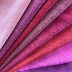 Polyester-Möbel-Vorhang-Sofa-Kissen-Sitzausgangstextilvlies-Velour-Gewebe