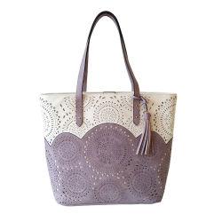 Handbag高品質PUの穴があいた女性