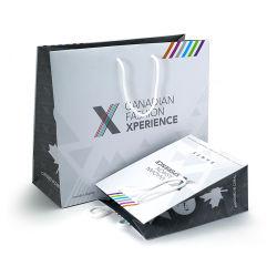 Günstige Top-Qualität Custom Logo Print Papier Verpackung Shopping-Geschenk Tasche für Bekleidung