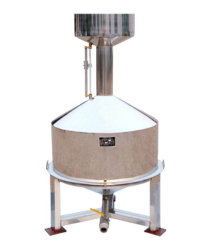 On peut mesurer en acier inoxydable de 5 L avec socle