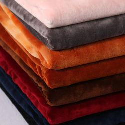 Samt-Polyester-Möbel-Vorhang-Sofa-Kissen-Sitzausgangstextilgewebe