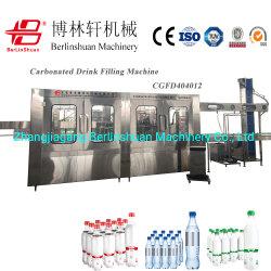 15000bph PET 병 가스 음료 탄산음료 탄산음료 쥬스 드프트 물 소다 물 보충 보틀링 라벨링 포장 라인 기계