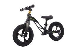 Vélo à équilibre en alliage de magnésium pour tout-petits/vélo à équilibre push-balance pour enfants/enfant de 12 cm Mini-cycle d'équilibre bon marché de roue de plasmique