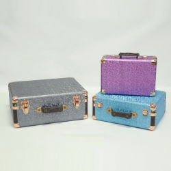 OEM fabricante artesanal de estilo retro la maleta de madera