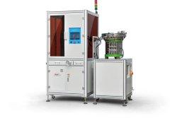 Sistema de inspección óptica de alta velocidad para los eslabones