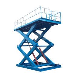Niveau de Dock Chargement Déchargement élévateur hydraulique de levage électrique de type ciseaux plate-forme de tableau