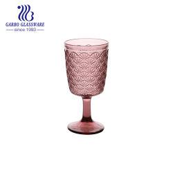 Vinho de cor púrpura de cor sólida Stemware Vidro vender no Brasil vinho quente Copo de vidro