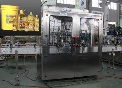 Automatische Glasflaschen-Sonnenblume-essbare olivgrüne kochendes Öl-füllende Produktion- von Ausrüstungsgegenständengemüsezeile füllende Verpackungs-Verpackmaschine des Haustier-0.5L-5L